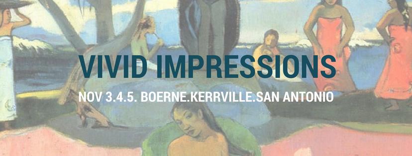 Vivid Impressions Program Notes