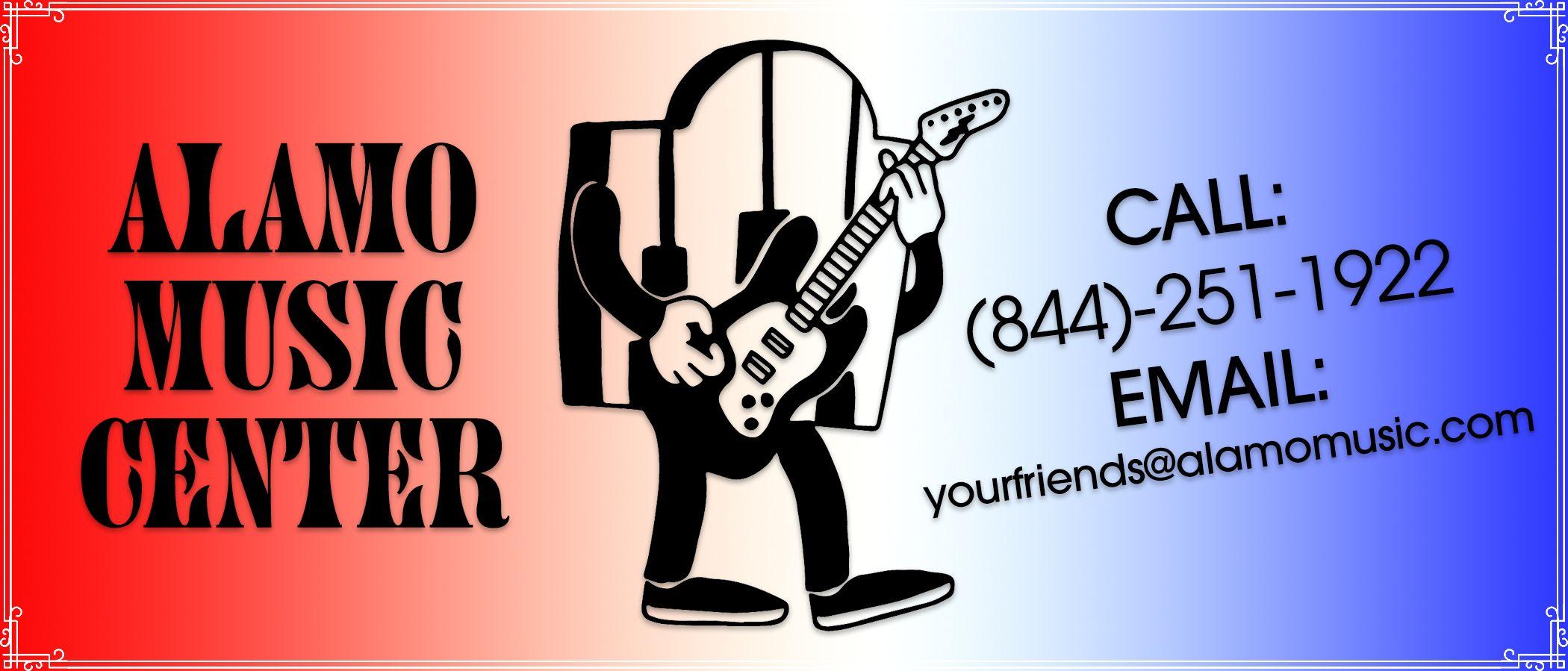 Alamo Music Center logo
